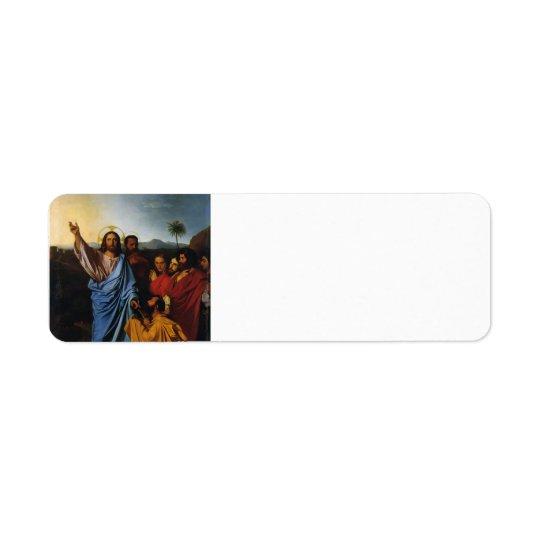 Jean Ingres- Jesus Returning the Keys to St. Peter