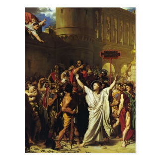 Jean Ingres- The Martyrdom of St. Symphorian Postcard