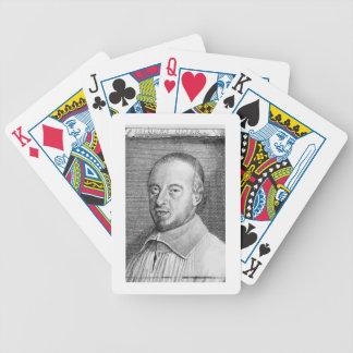 Jean Jacques Olier (1608-57) (engraving) (b/w phot Poker Deck