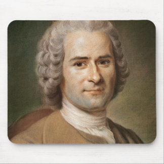 Jean-Jacques Rousseau  after 1753 Mouse Pad