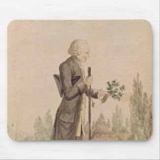 Jean-Jacques Rousseau  Gathering Herbs Mouse Pad