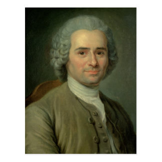 Jean-Jacques Rousseau Postcard