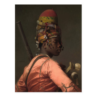 Jean-Leon Gerome Black Bashi-Bazouk circa 1869 Postcard