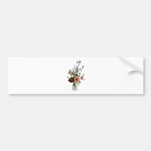 Jean Louis Prevost Narcissus Bouquet Bumper Sticker