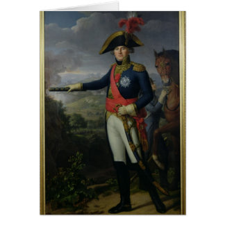 Jean Mathieu Philibert Serurier  Comte d'Empire Card