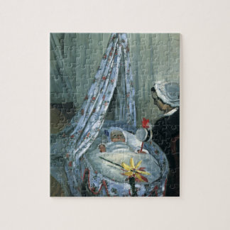 Jean Monet in His Cradle by Claude Monet Jigsaw Puzzle