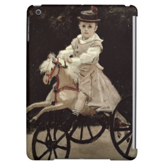 Jean Monet on his Hobby Horse, 1872 Cover For iPad Air