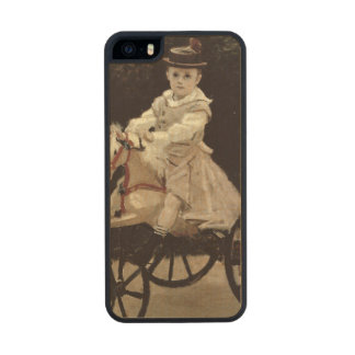 Jean Monet on his Hobby Horse, 1872 Carved® Maple iPhone 5 Slim Case