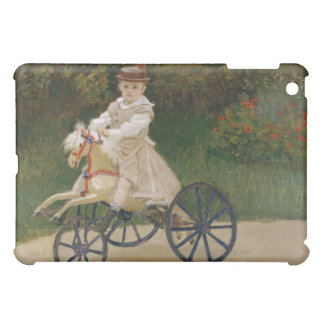 Jean Monet on His Hobby Horse - Claude Monet iPad Mini Covers