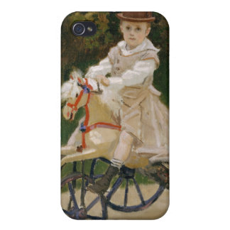 Jean Monet on His Hobby Horse - Claude Monet iPhone 4/4S Cover