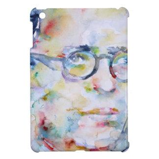 jean paul sartre - watercolor portrait iPad mini covers