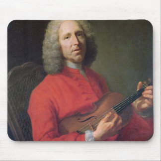 Jean-Philippe Rameau  with a Violin Mouse Pad