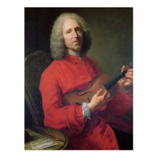 Jean-Philippe Rameau  with a Violin Postcard