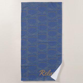 Jean Pocket Style Beach Towel
