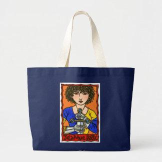 Jeanne d'Arc Large Tote Bag