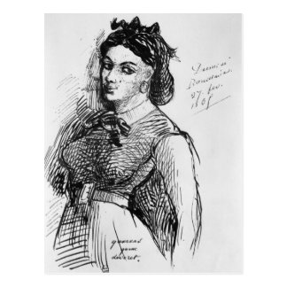 Jeanne Duval, 1865 Postcard