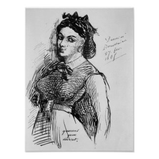 Jeanne Duval, 1865 Poster