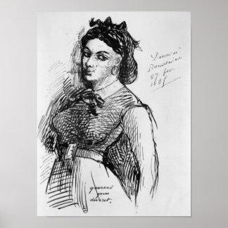 Jeanne Duval, 1865 Print
