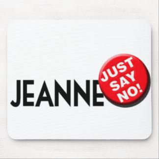 Jeanne Hates Christmas Mousepad