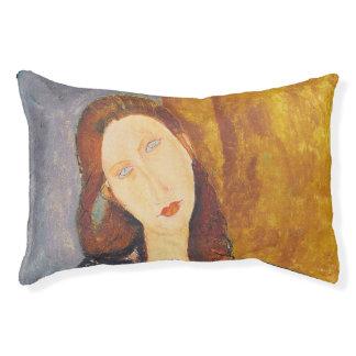 Jeanne Hebuterne portrait by Amedeo Modigliani Pet Bed