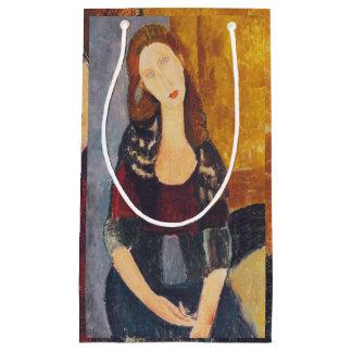 Jeanne Hebuterne portrait by Amedeo Modigliani Small Gift Bag