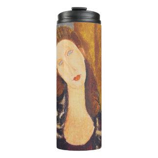 Jeanne Hebuterne portrait by Amedeo Modigliani Thermal Tumbler