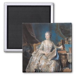 Jeanne Poisson  the Marquise de Pompadour, 1755 Magnet