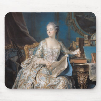 Jeanne Poisson  the Marquise de Pompadour, 1755 Mouse Pad