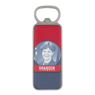 JEANNE SHAHEEN CAMPAIGN MAGNETIC BOTTLE OPENER