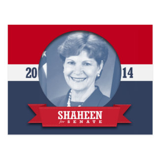JEANNE SHAHEEN CAMPAIGN POST CARD