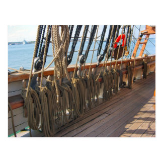 """Jeannie Johnston"" sail training vessel, tall ship Postcard"