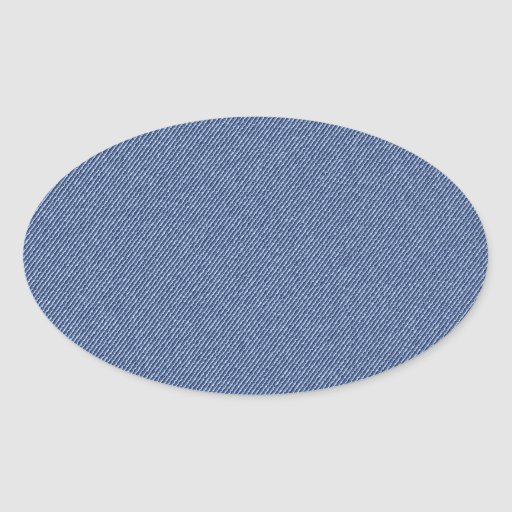 Jeans3 Oval Stickers