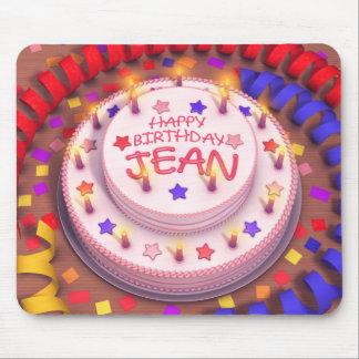 Jean's Birthday Cake Mouse Pad