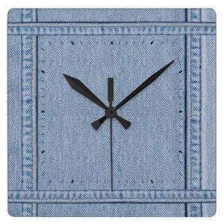 Jeans Clock