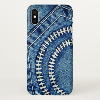 Jeans iPhone X Case