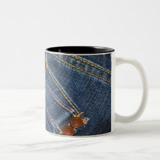 Jeans Two-Tone Coffee Mug