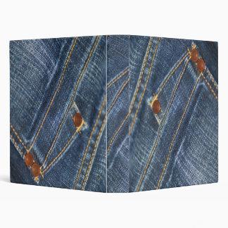 Jeans Vinyl Binder