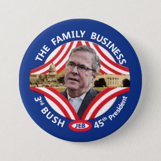Jeb 45th President 3 Inch Round Button