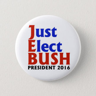 JEB BUSH 2016 2 INCH ROUND BUTTON