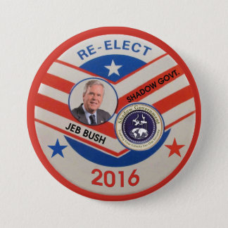 Jeb Bush 2016 3 Inch Round Button