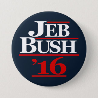 Jeb Bush 2016 Campaign Buttons