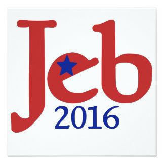 JEB bush 2016 Card