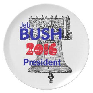 Jeb BUSH 2016 Party Plate