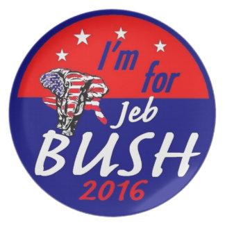 Jeb BUSH 2016 Plate