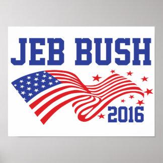 Jeb Bush 2016 Poster