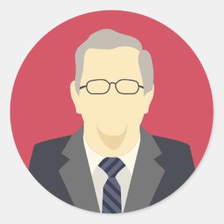 Jeb Bush 2016 presidential election candidate Round Sticker