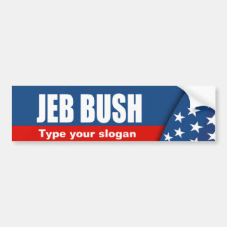 JEB BUSH Election Gear Bumper Sticker