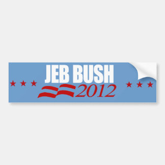 Jeb Bush for President 1 Bumper Sticker