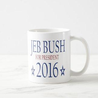 Jeb Bush for President 2016 Basic White Mug