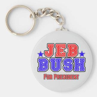 Jeb Bush for President Basic Round Button Keychain